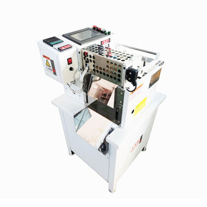 160mm nylon zipper Hot Cutting Machine (cold/hot Model)