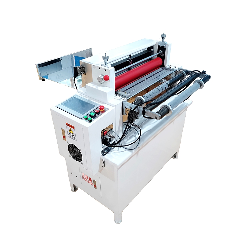 automatic paper roll to sheet cutting machine