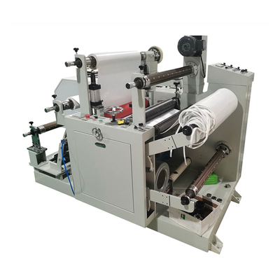 automatic film slitting and rewinding machine