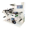 Rotary die cutting machine for blank label